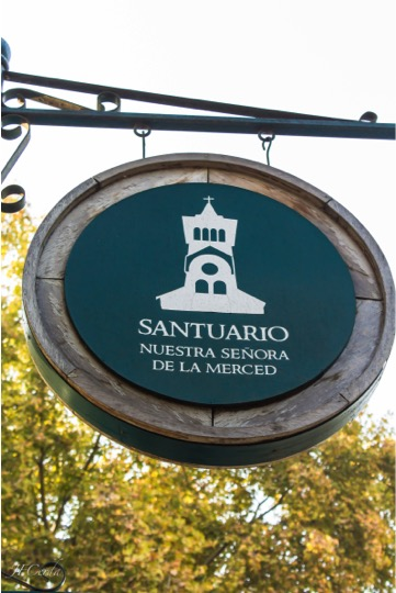 Tour in Isla de Maipo. Signal clock in Avenida Santelices. Santiago Chile