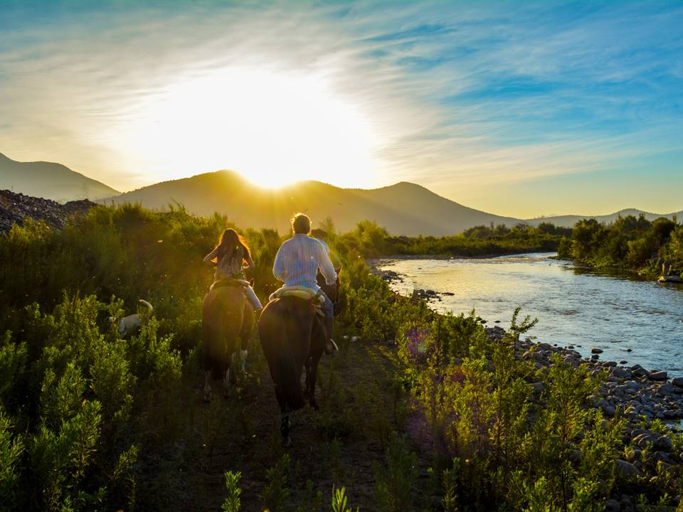 Book 2-hour, 3-hour and a half or 6-hour horseback ride near Santiago de Chile