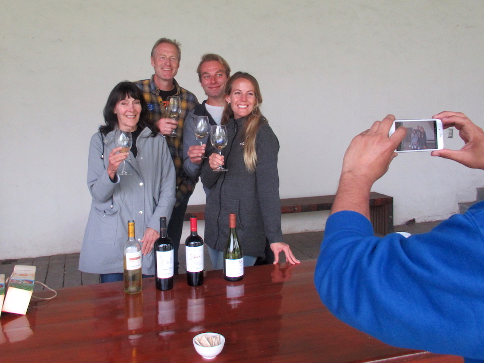 Undurraga winery Toast