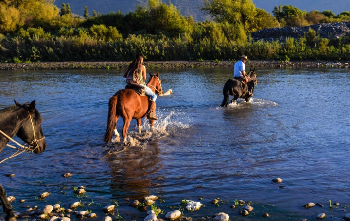 Horseback wine tour in Maipo Valley